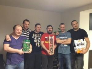 Zľava: Tomáš, Maroš, Viktor, Miro, Marek, Erik
